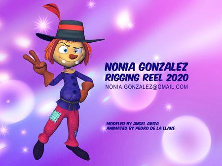 Nonia Gonzalez - Rigging Reel