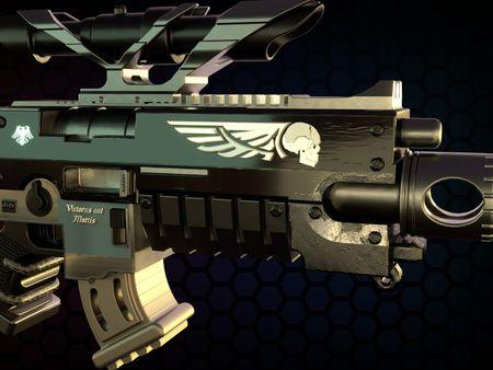 MK II Cawl-Pattern Bolt Rifle