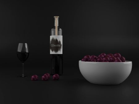 Ulwethu winery CGI product visualization