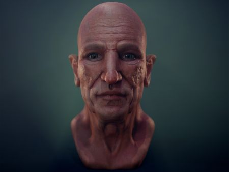 Anatomy of Ageing Head