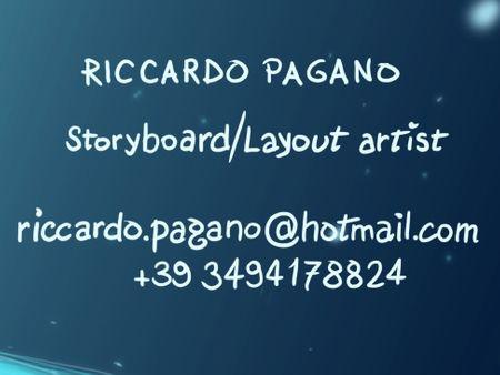 Storyboard reel