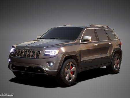 2014 Jeep Grand Cherokee Overland Model