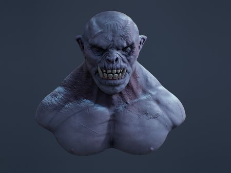 Pike the Frost Orc