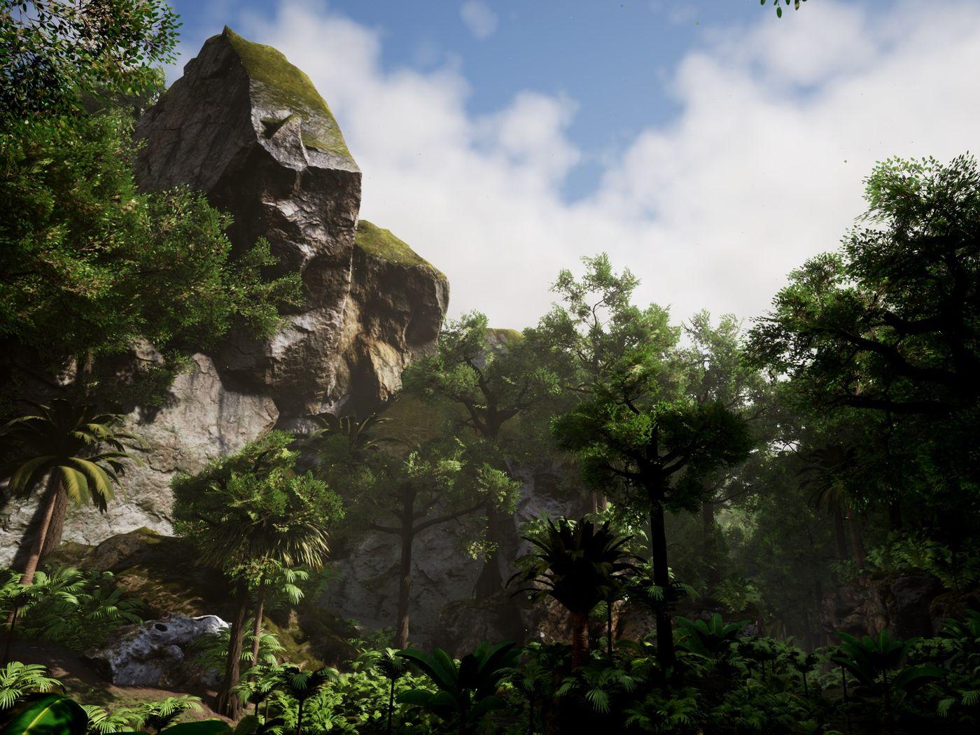 Rainforest & Cave Environment UE4