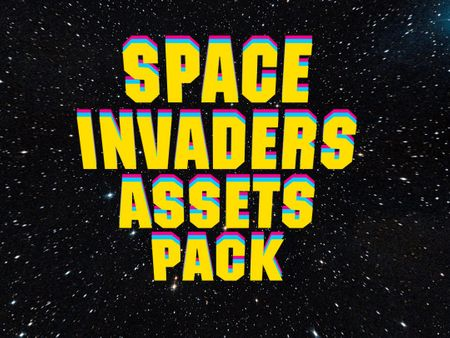 3d Space Invader Asset Pack