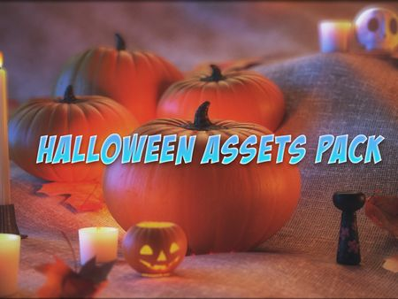 Halloween Decoration Pack Low-poly 3D model