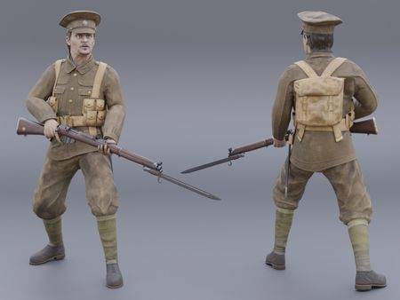 Early 20th Century British Soldier