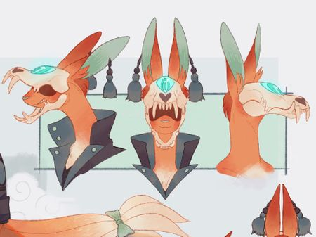 Fox Character - Kiu