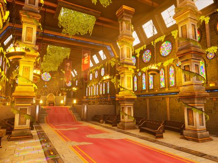 3D Stylized Environment - Cathedral of Tifeus
