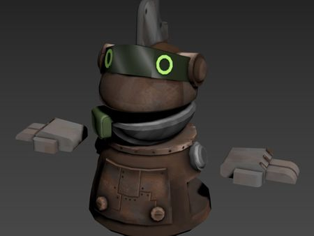 Simple Character Modelling