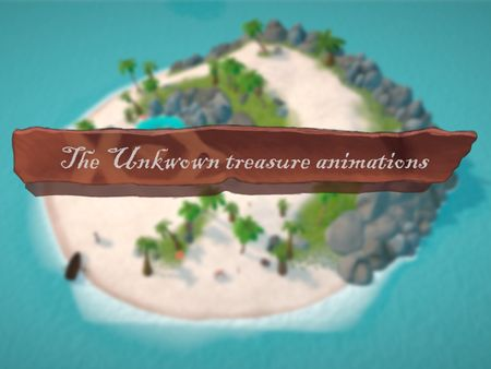 The Unknown Treasure characters and animations