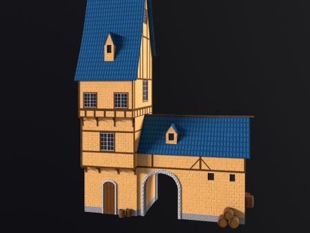 Medieval Stylized House