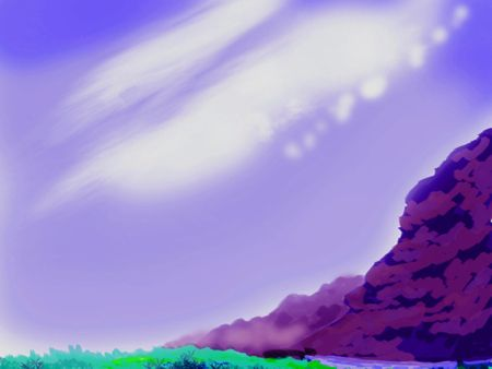Concept art Mountain landscape 2
