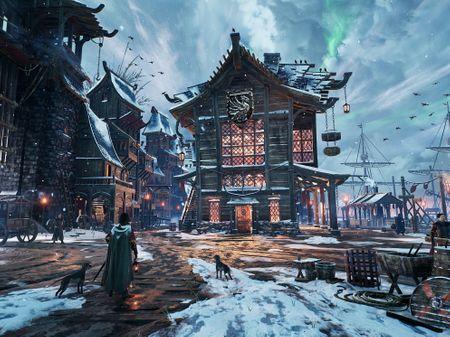 """Snowed Inn"" Docks - The Traveller's Tavern - Dinusty Empire Challenge"