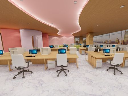 Kylie Cosmetic Office Design