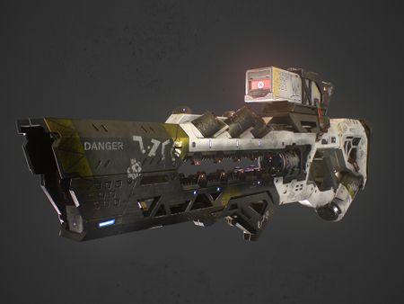 Sci-Fi Railgun
