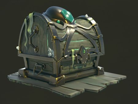 Pirate Chest for a Weekly drill
