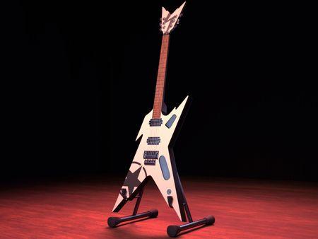 ~ Dean Guitars Razorback ~