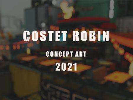 COSTET ROBIN CONCEPT ART 2021