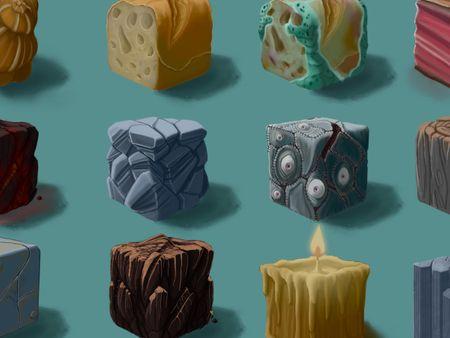 2D texture cubes