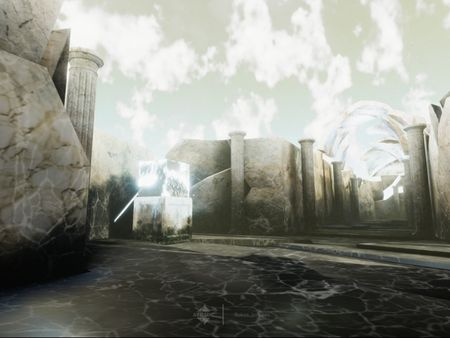 Dream Hallway Enviornment (Unity HDRP Build)