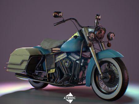 Harley Davidson 1200-FLH