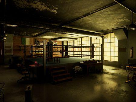 Fogwell's Gym - Daredevil