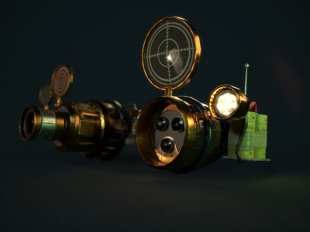 Steampunk Goggles ( Real-Time )
