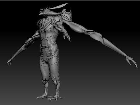 "Flash Gordon ""Vultan"" Concept model"