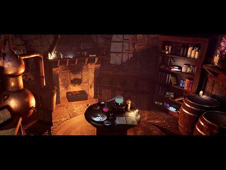 Witcher Inspired Alchemy Lab Diorama