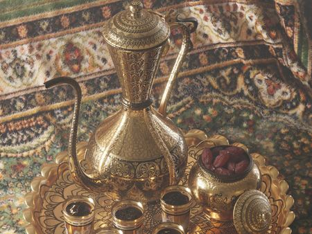 Arabic Ethnic Teapot