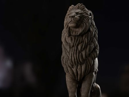 Lion of Qasr El Nil Bridge