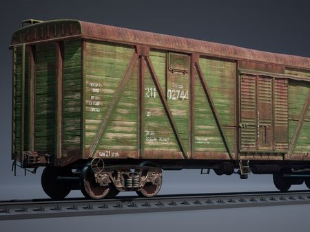 Old Freight Car