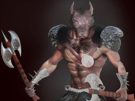 Werewolf Warrior Concept