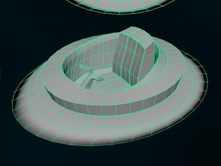 Futuristic Air Ship - Part 1