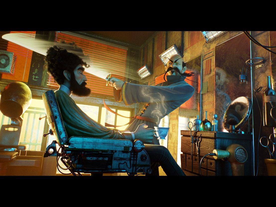"""Barbershop"" concept by Nikolai Lockertsen"