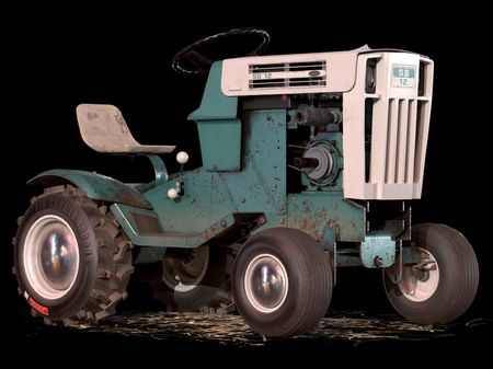 3D Vintage SEARS Lawn Tractor