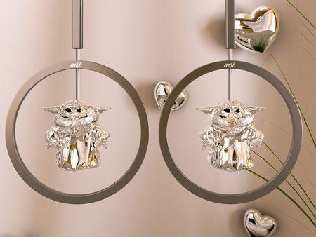 Exquisite Babyyoda earrings
