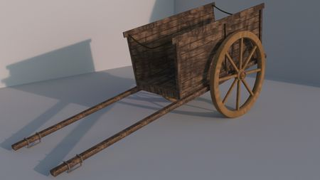 A medieval cart
