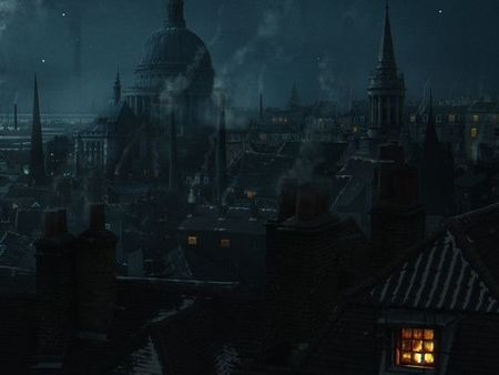 Victorian city enviroment
