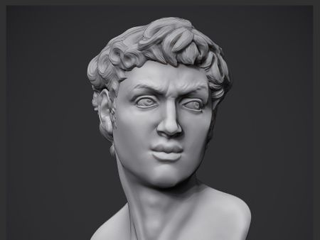First work on Zbrush