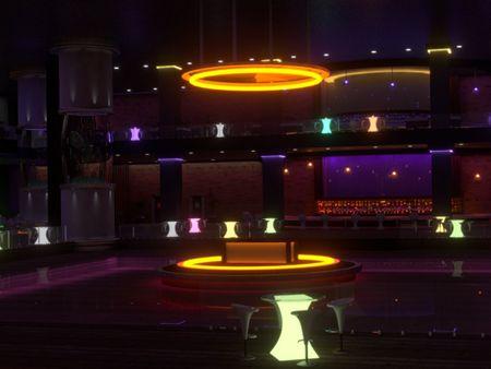 """Nightclub """"Terrarium""""."""