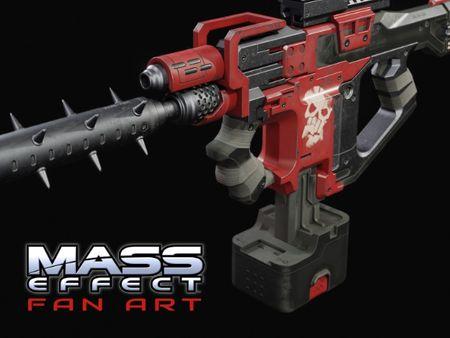 Mass Effect - Bloodpack Punisher Fanart