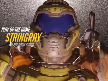 Doom/Overwatch Highlight intro
