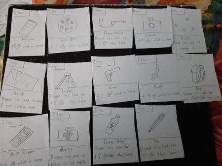 Alien Conspiracy Card game V1