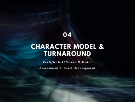 Character Model & Turnaround Pt.4