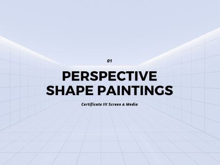 Perspective Shape Paintings