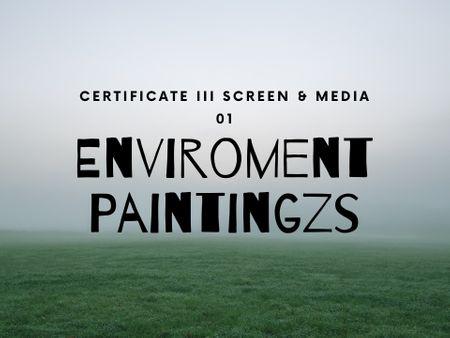 Enviroment Paintings