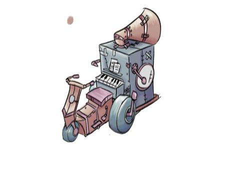 Vehicles and Prop Design - Compilation