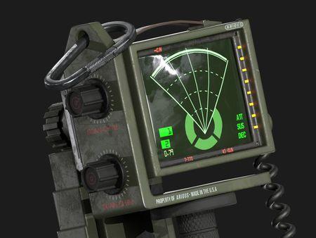 Alien Isolation motion tracker *Fan art*